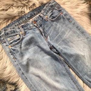 J Crew Matchstick Crop Jeans 26